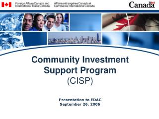 Community Investment Support Program (CISP)