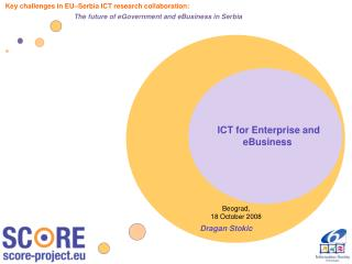 ICT for Enterprise and eBusiness