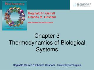 Chapter 3 Thermodynamics of Biological Systems