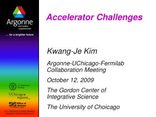 Accelerator Challenges