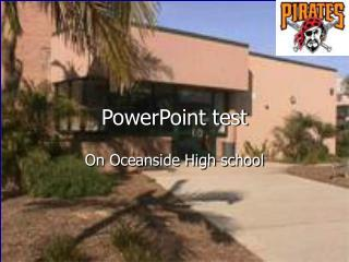 PowerPoint test