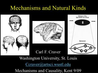 Mechanisms and Natural Kinds