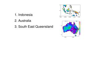 Indonesia Australia South East Queensland