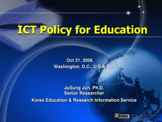ICT Policy for Education