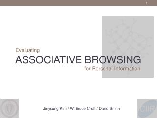 ASSOCIATIVE BROWSING