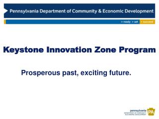 Keystone Innovation Zone Program