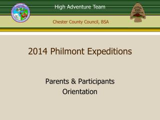 2014 Philmont Expeditions