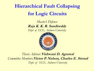 Hierarchical Fault Collapsing  for Logic Circuits