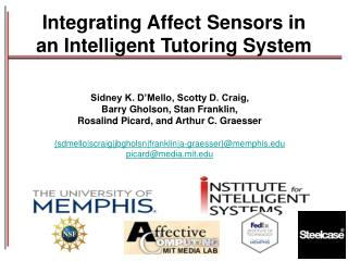 Integrating Affect Sensors in an Intelligent Tutoring System