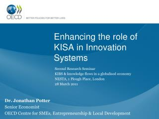 Enhancing the role of KISA in Innovation Systems