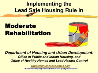 Implementing the Lead Safe Housing Rule in