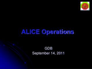 ALICE Operations
