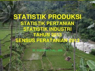 SILABUS STATISTIK PRODUKSI