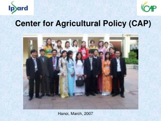 Center for Agricultural Policy (CAP)