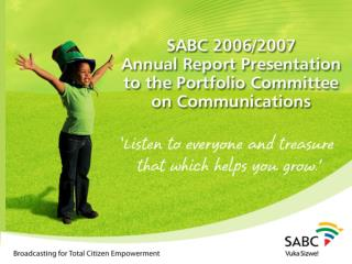 SABC  Board  Four years in Review