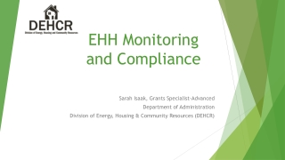 EHH Monitoring and Compliance