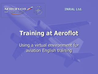 Training at Aeroflot
