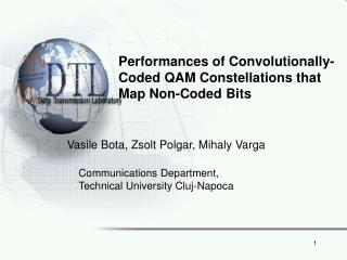 Performances of Convolutionally-Coded QAM Constellations that Map Non-Coded Bits
