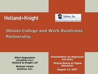 Illinois College and Work Readiness Partnership