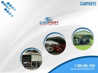 Carport Empire - Ultimate Source for Carports, Steel Barns a