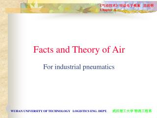 Facts and Theory of Air