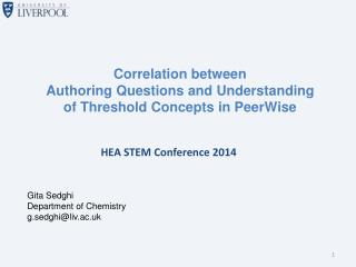 HEA STEM Conference 2014