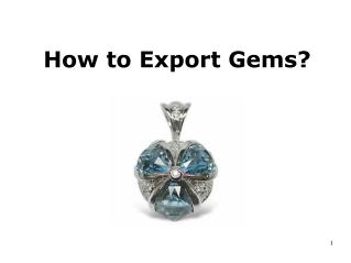 How to Export Gems?