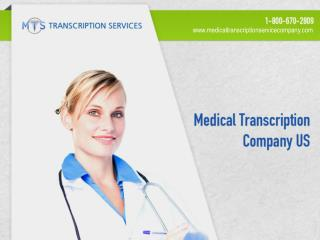 Medical Transcription Company US