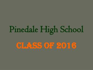 Pinedale High School
