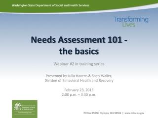Data Team Training  The Basics