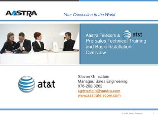 Aastra Telecom &   Pre-sales Technical Training and Basic Installation Overview