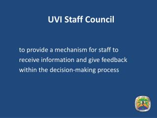 UVI Staff Council