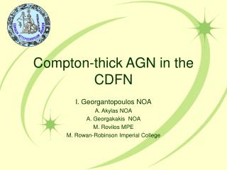 Compton-thick AGN in the CDFN