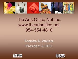 The Arts Office Net Inc. theartsoffice 954-554-4810