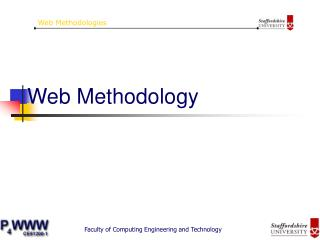 Web Methodology