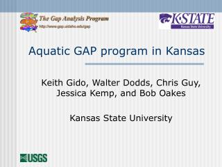 Aquatic GAP program in Kansas