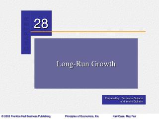 Long-Run Growth