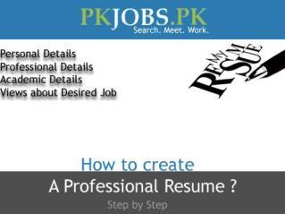 Online free résumé builder for your ease