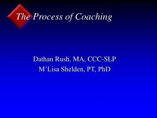 The Process of Coaching