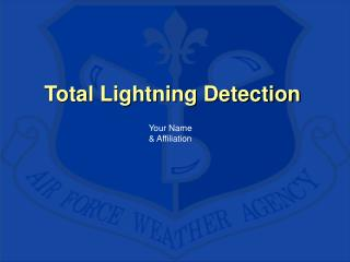 Total Lightning Detection