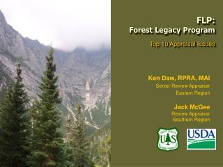 FLP:  Forest Legacy Program