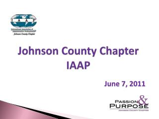 Johnson County Chapter IAAP