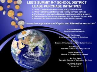 LEE'S SUMMIT R-7 SCHOOL DISTRICT      LEASE PURCHASE INITIATIVES