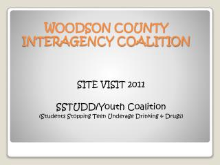 WOODSON COUNTY  INTERAGENCY COALITION