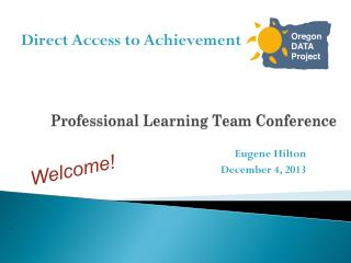 Professional Learning Team Conference