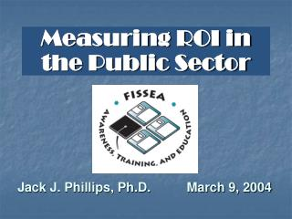 Measuring ROI in the Public Sector