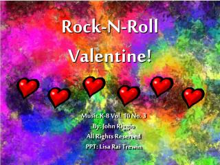 Rock-N-Roll Valentine!