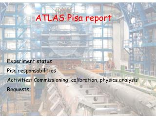 ATLAS Pisa report