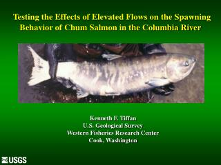 Testing the Effects of Elevated Flows on the Spawning