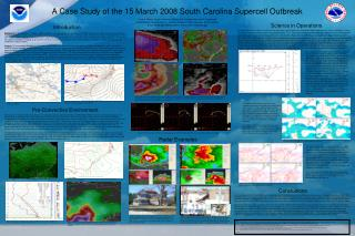 A Case Study of the 15 March 2008 South Carolina Supercell Outbreak